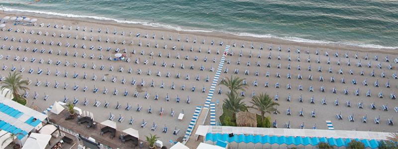Spiaggia Lloyd's Baia Hotel